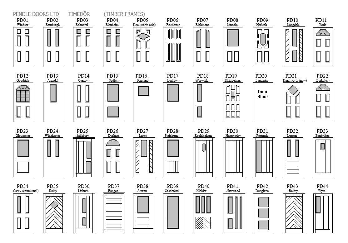 Sbd Door Types Pendle Doors